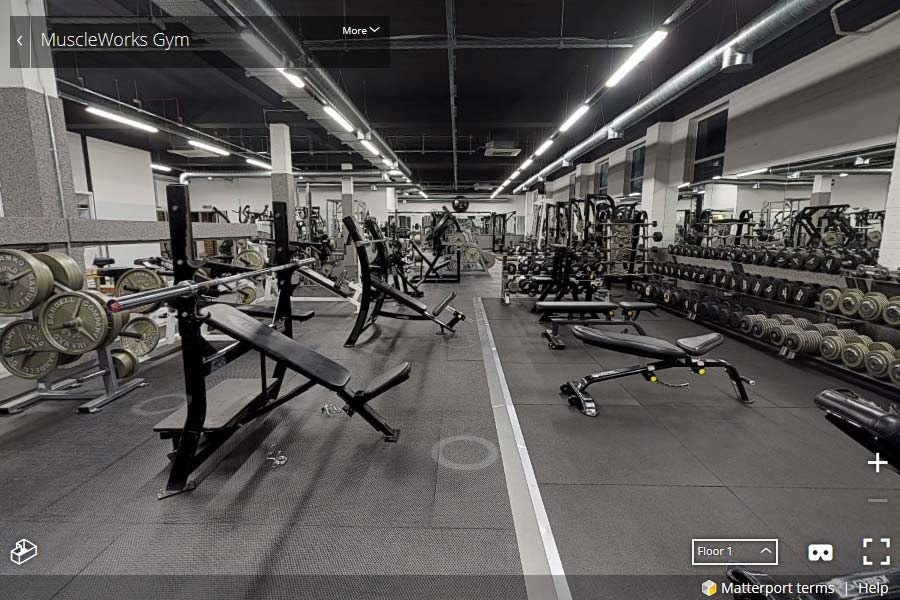 MuscleWorks Gym 360 Tour